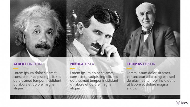 Famous Physicians in black and white