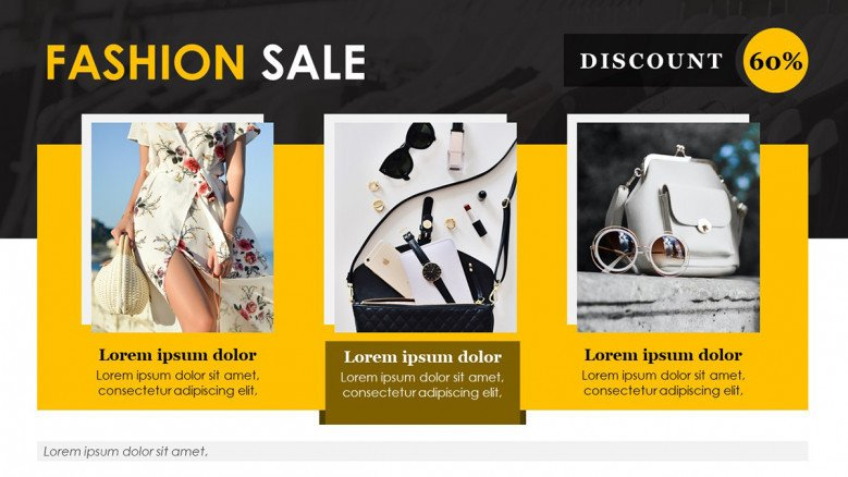 Sale Flyer for Fashion Industry
