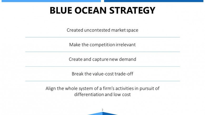 Blue Ocean Strategy Strategy Text Sections