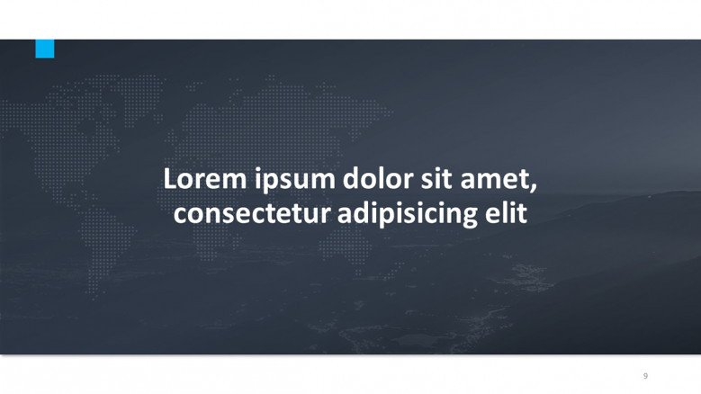 Quote Slide for an international business presentation