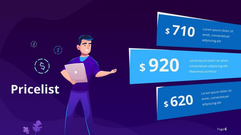 Pricelist for tech services