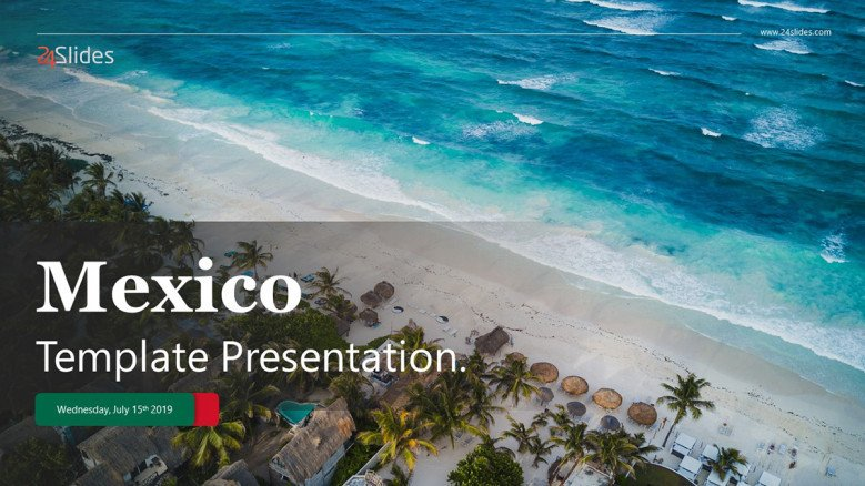 Title Slide for a Mexican Presentation
