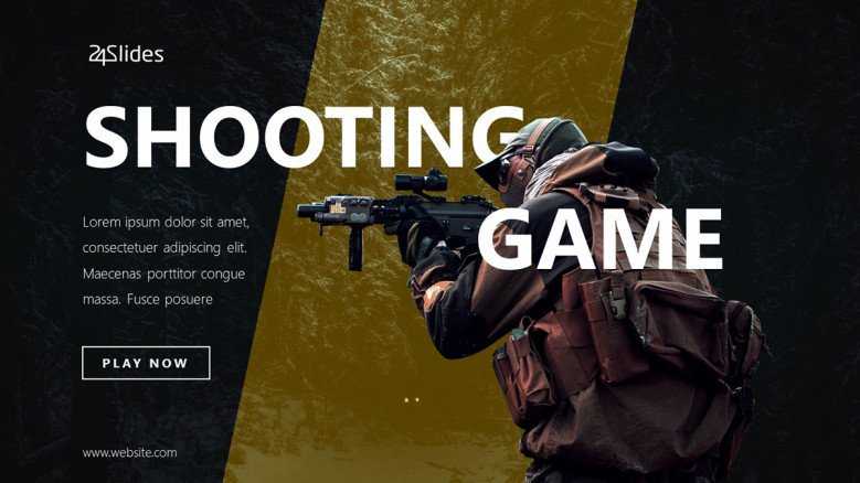 Shooting Game PowerPoint Template