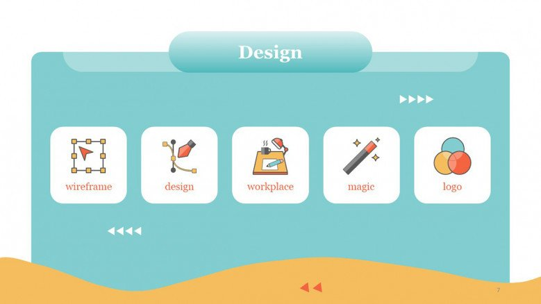 Design Icons for PowerPoint Presentations