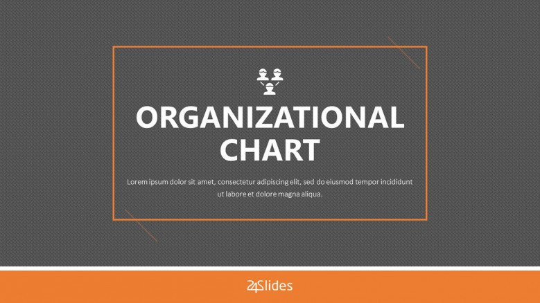 organizational chart presentation welcome slide