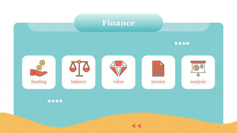 Finances PowerPoint Icons