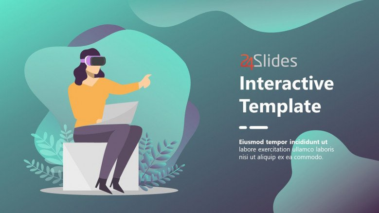 Interactive Product Presentation Template