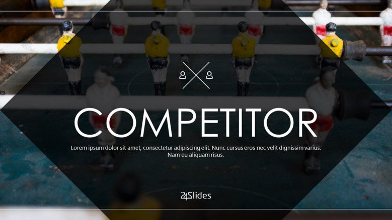 welcome slide for competitor presentation