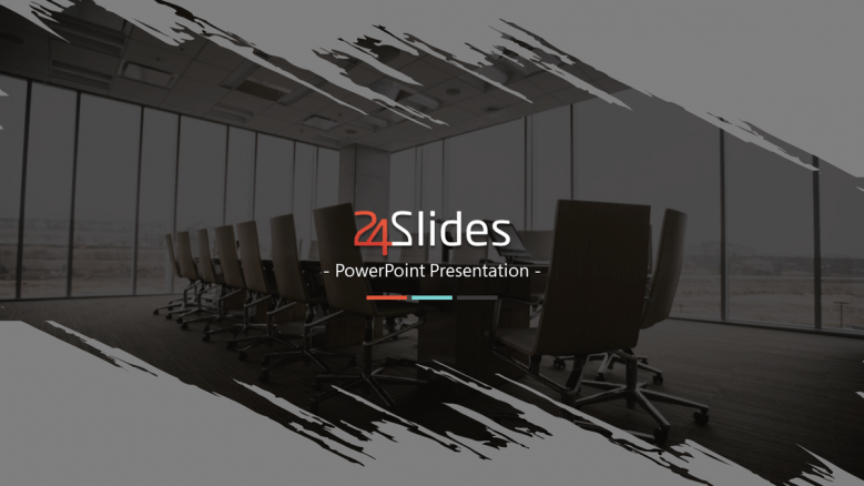 welcome slide for corporate template pack