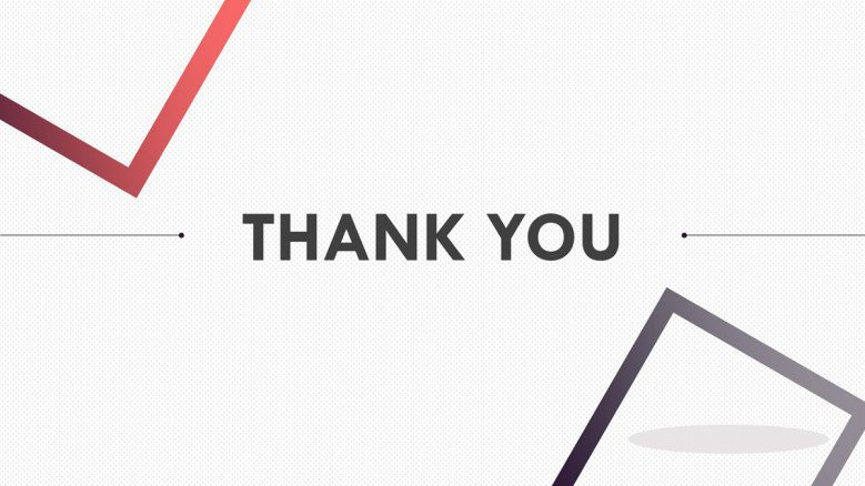thank you slide for pitch deck presentation