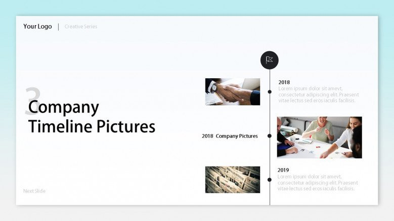 company timeline pictures