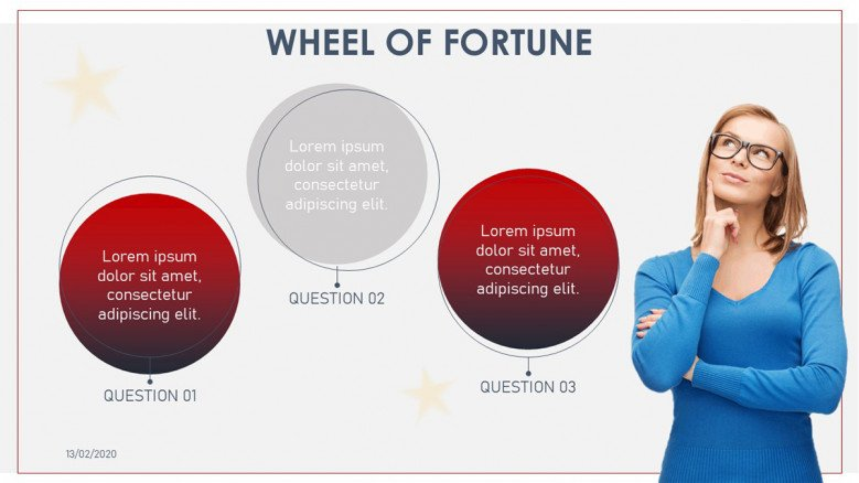 Wheel of fortune questions slide