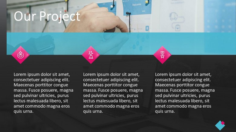 Project PowerPoint Slide for Digital Marketing Agencies