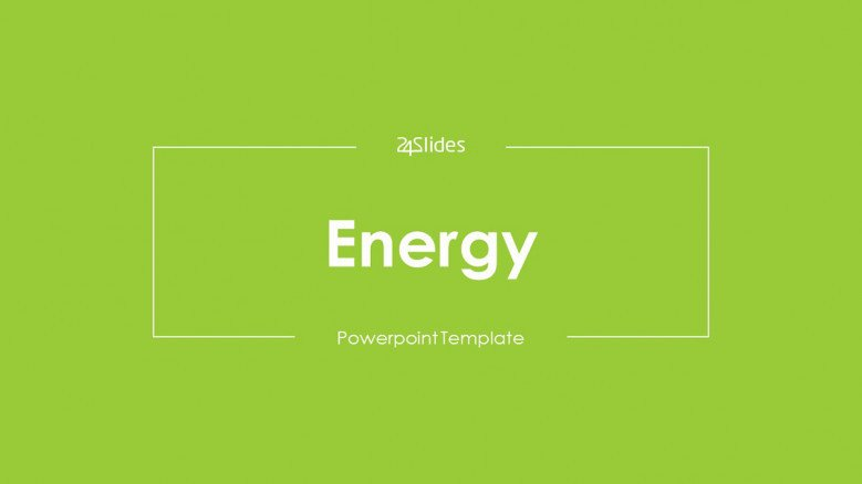 welcome slide for energy presentation