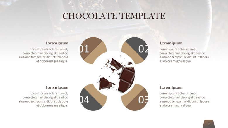 Chocolate matrix with numbers