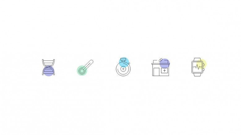 Linear Medical Icons in PowerPoint