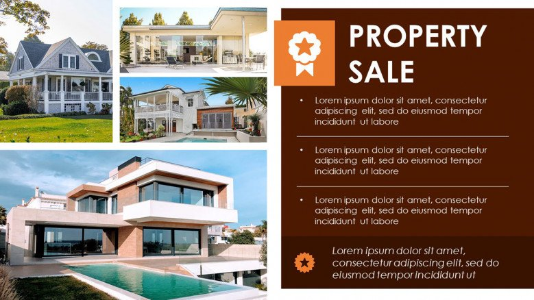 Creative Flyer for Property Sale