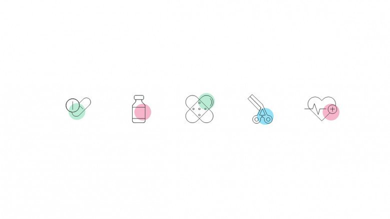 Pharmacy Related Icons