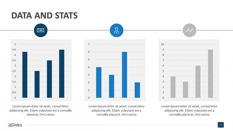 Pharma Charts for PowerPoint presentations
