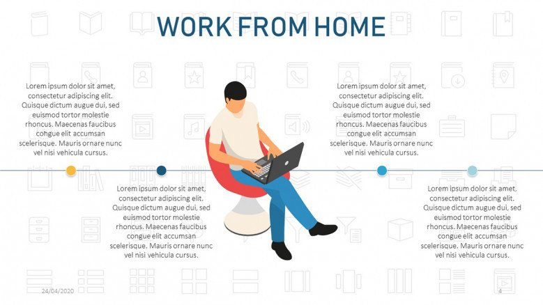 Timeline for remote working