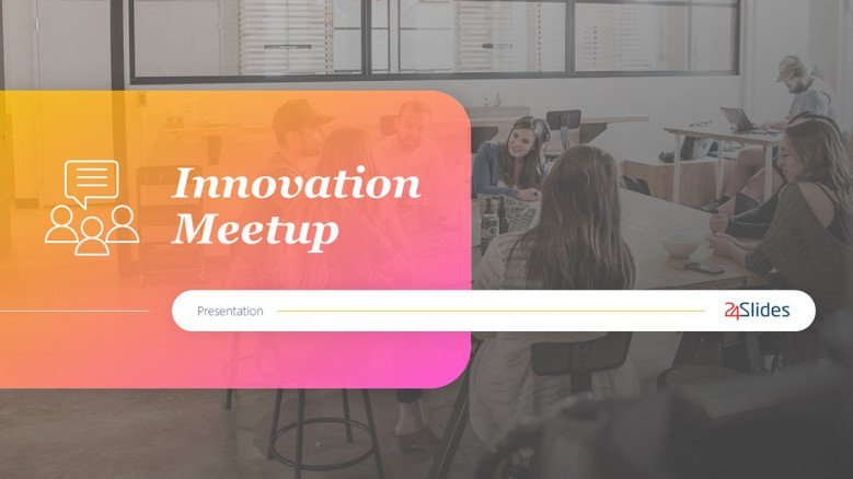 Innovation PowerPoint Template in creative style