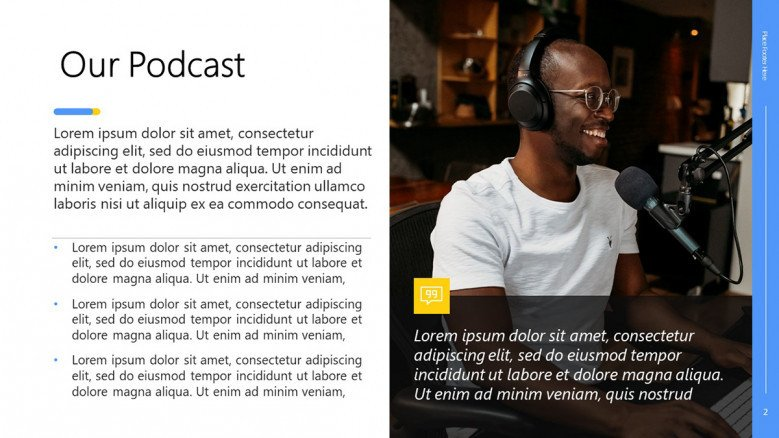 Podcast Presentation in PowerPoint