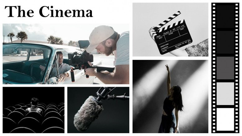 Video Production Mood Board template
