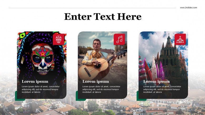 Mexican Culture Slide with images
