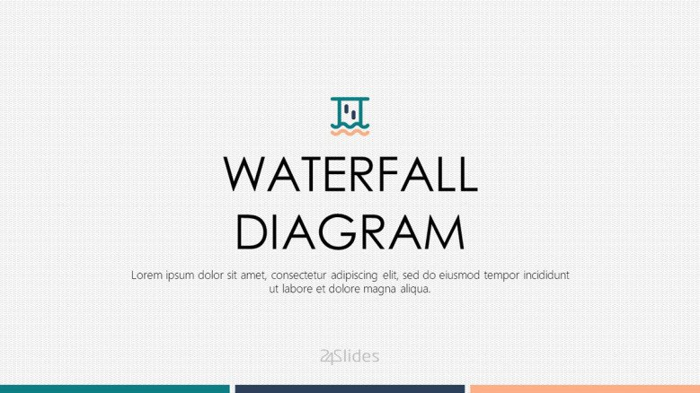 welcome slide for waterfall diagram presentation