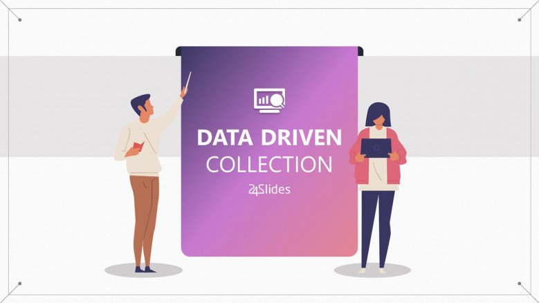 playful data driven collection welcome slide