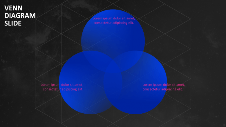 3 blue circles diagram