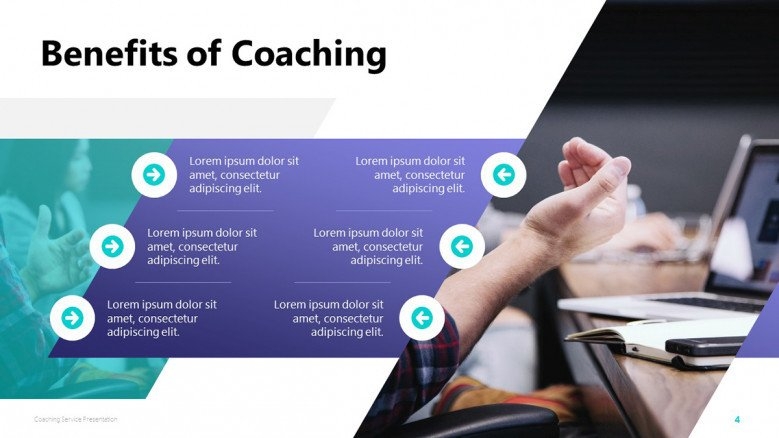 Benefits of Coaching PowerPoint Slide