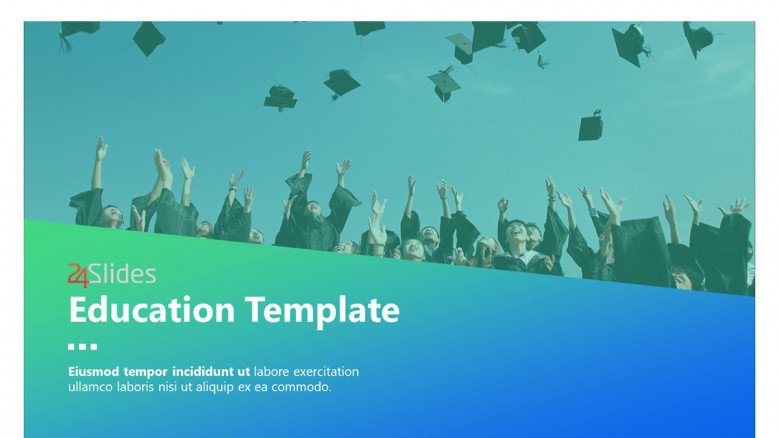 Education Template Cover