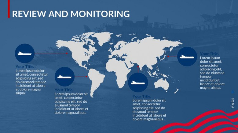 Global Map for monitoring