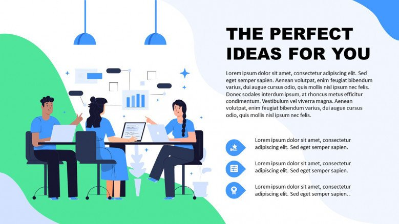 Brainstorming PowerPoint Presentation in playful style