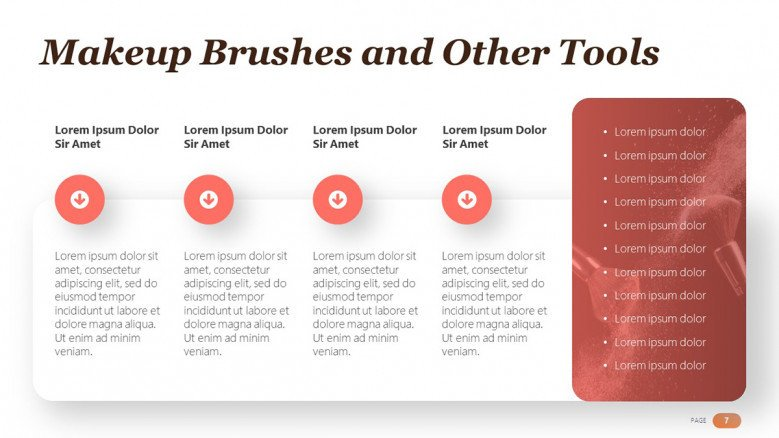 Makeup Brushes and Tools Slide