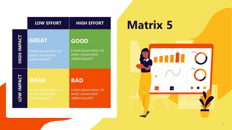 Priority Matrix Template for PowerPoint