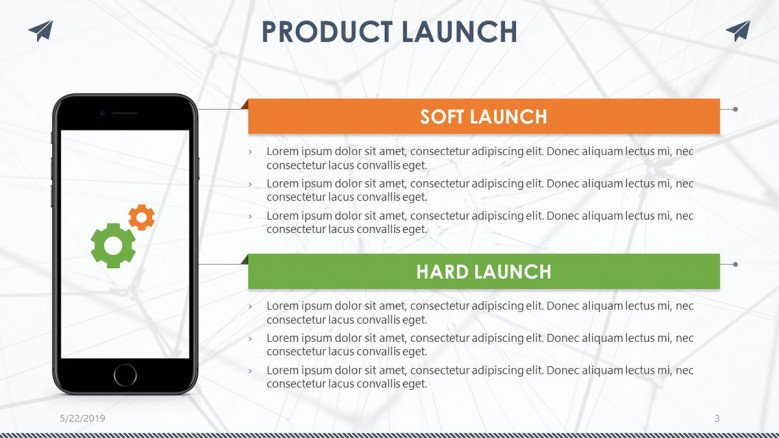 product launch mobile app summary