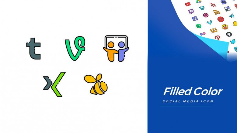 Professional Social Media Icon Pack