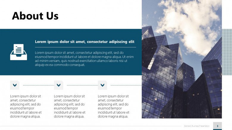 Corporate About Us PowerPoint Slide