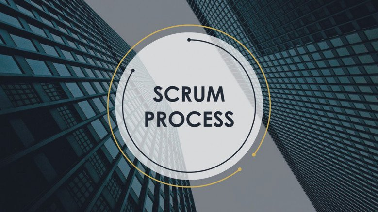welcome scrum process presentation slide