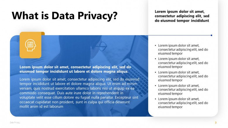 Data Privacy PowerPoint Slide