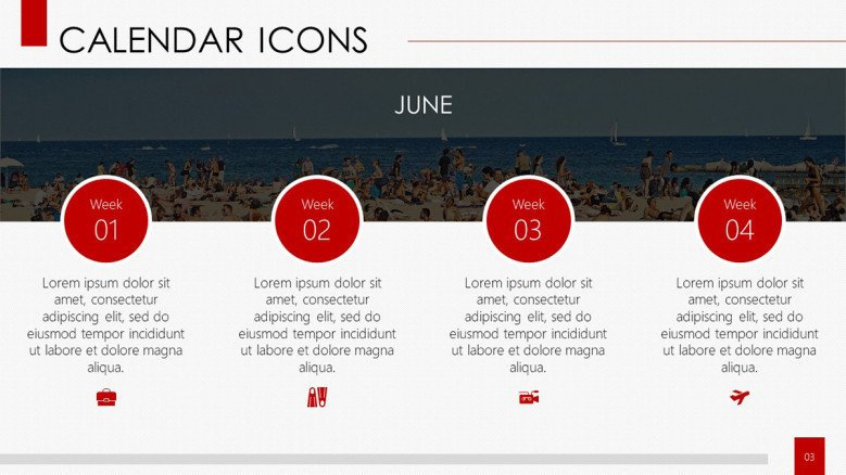 4 calendar icon and description