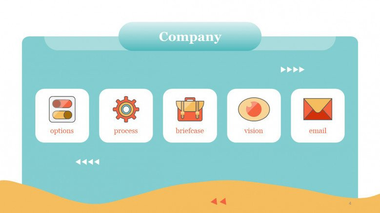 Company Icons for PowerPoint Presentations