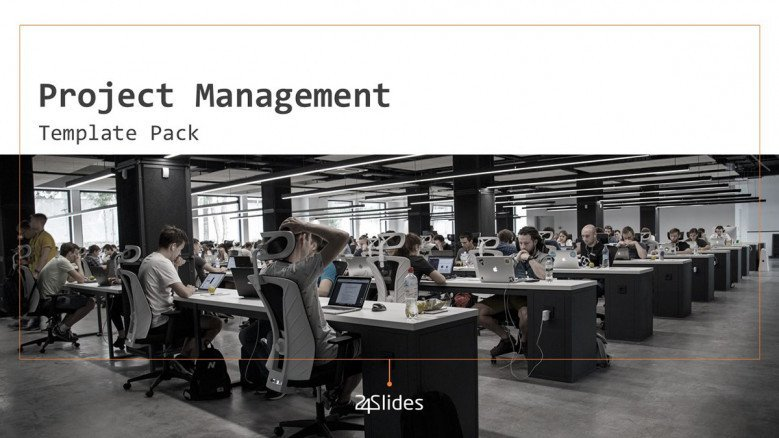 welcome slide for project management presentation