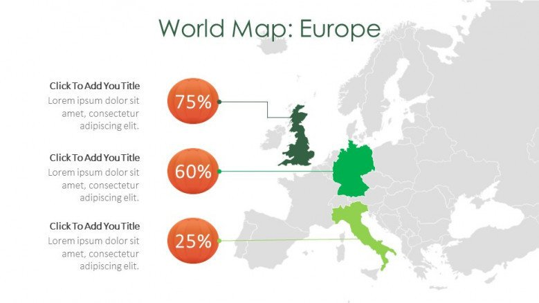world map creative slide for halloween theme presentation