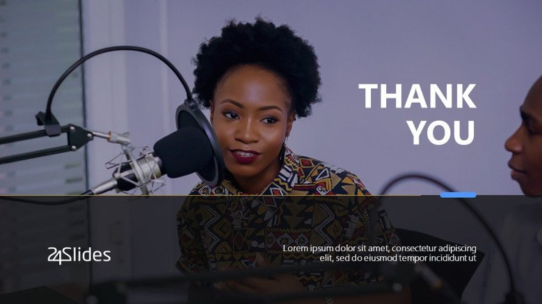 Podcast Thank You Slide