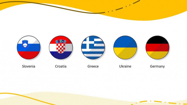 European Country Flag icons in PowerPoint