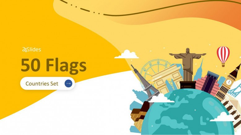 50 Flags Icon Pack