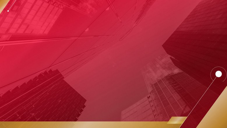 Red and Gold PowerPoint Background